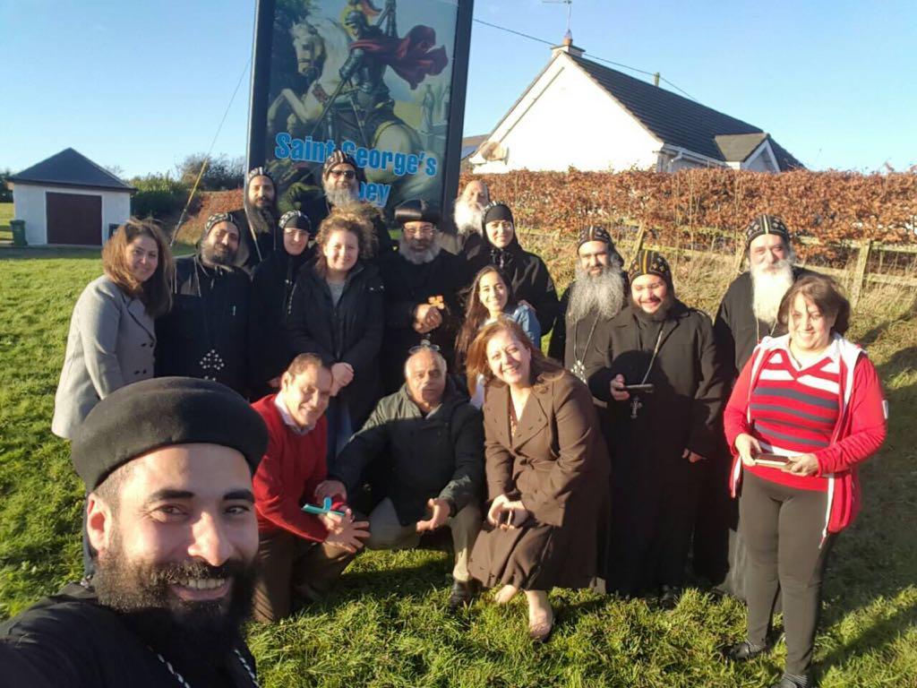 The blessed visit of HG Bishop Rafael 1