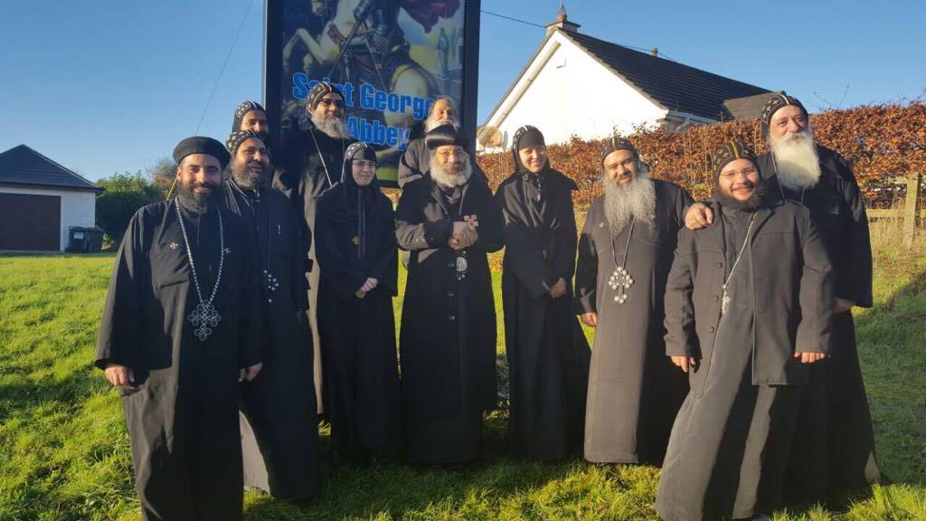 The blessed visit of HG Bishop Rafael 3