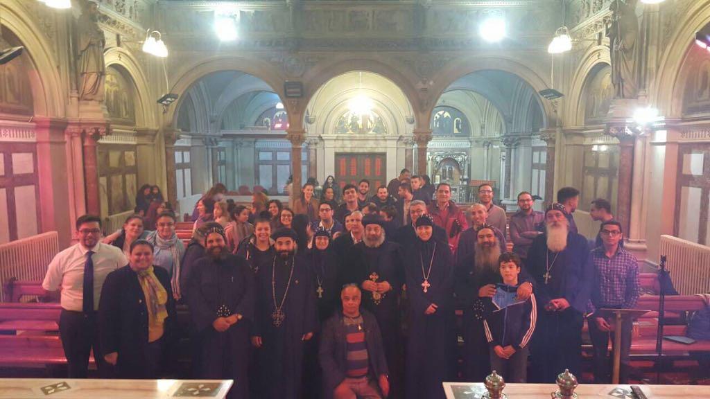 The blessed visit of HG Bishop Rafael 4