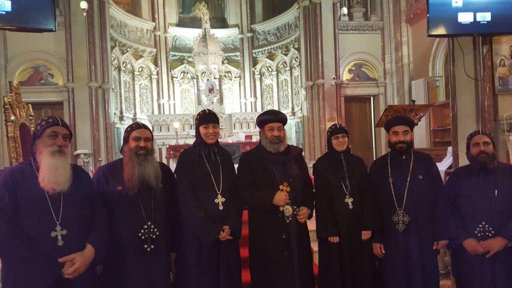 The blessed visit of HG Bishop Rafael 6