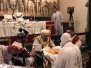 24th March 2018, HG Bishop Antony praying the Holy Liturgy of the Sixth Sunday of the Holy Lent at the church of St Mary and St Theodore in Hastings