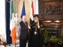 Director of the Middle East and North Africa welcoming HH Pope Tawadros Republic of Ireland, May 2017
