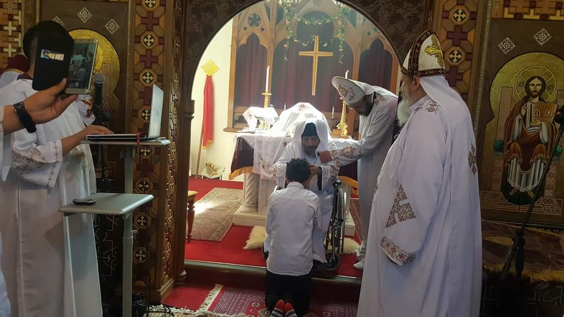 HG Bishop Antony with the Priests Massat Margate 2016