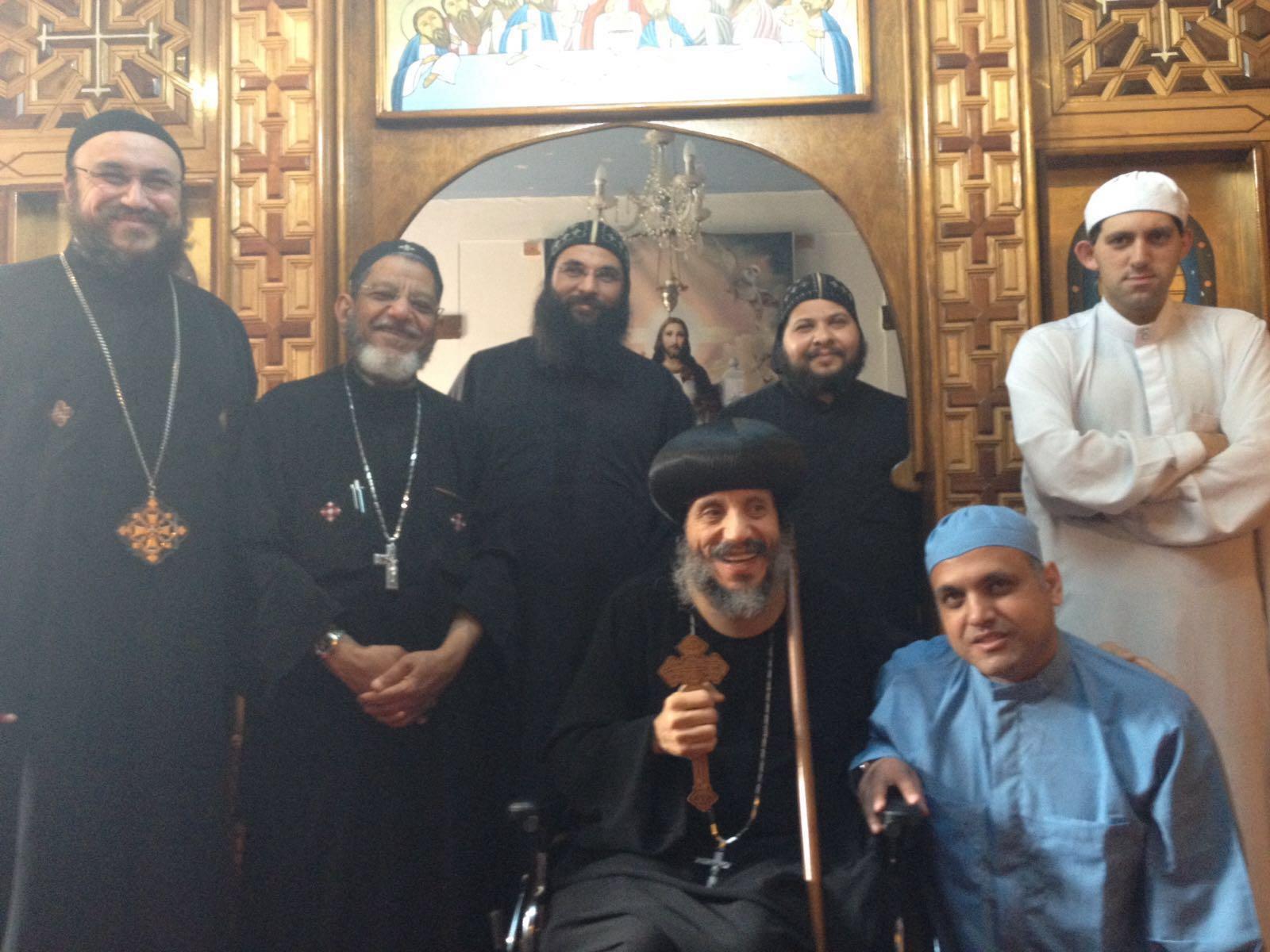 HG Bishop Antony Novice Monk Scarborough 2016