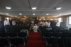 Congregation after the Mass