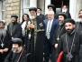 Secretary General of the Houses of the Oireachtas Service welcoming HH Pope Tawadros II Ireland, May 2017